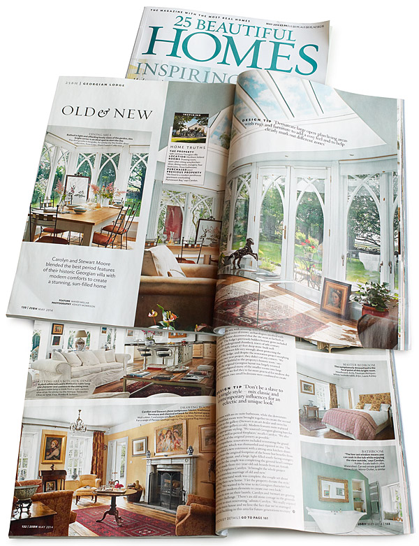 25 Beautiful Homes magazine May 2014
