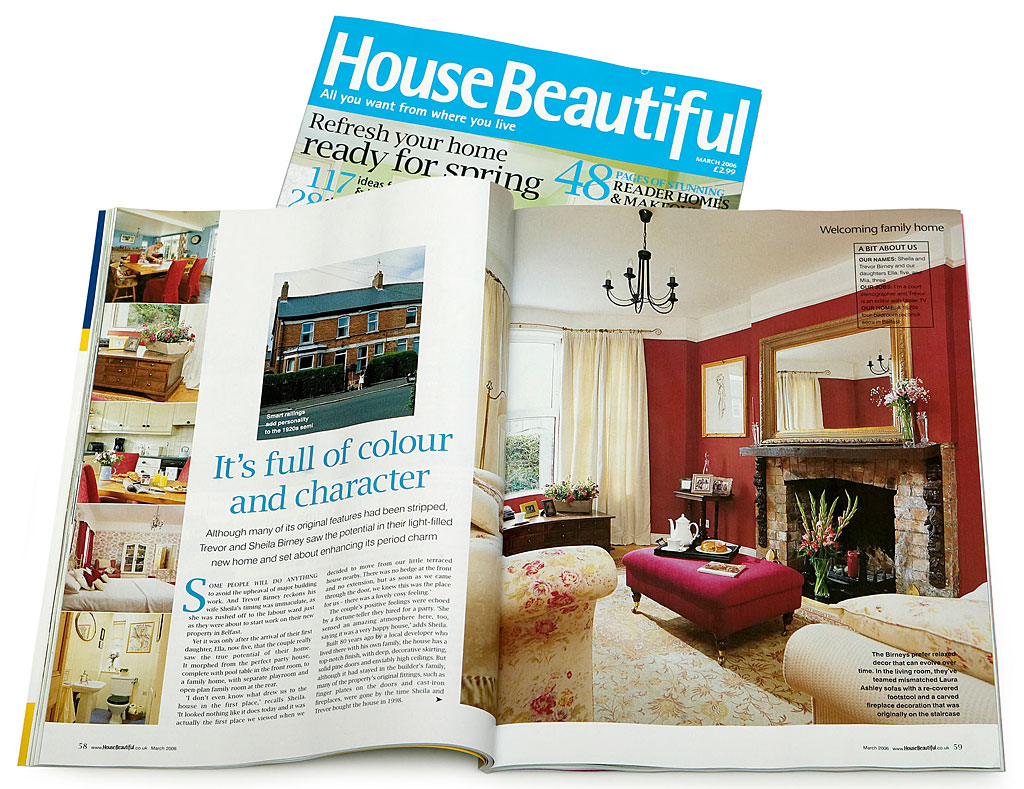 Pages 58 To 64 In The March 2006 Issue Of House Beautiful