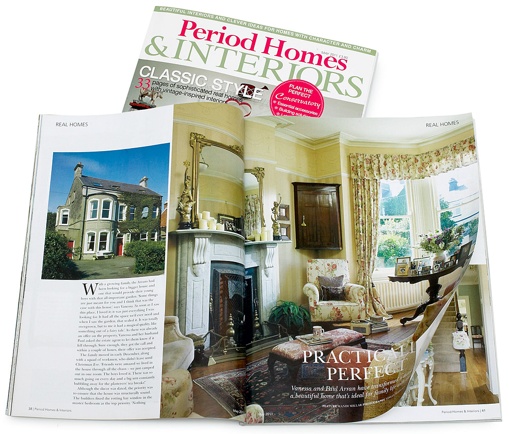 pages 38 to 43 in the may 2011 issue of period homes interiors magazine featuring paul and. Black Bedroom Furniture Sets. Home Design Ideas