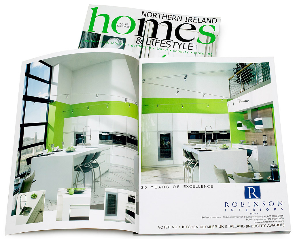 Advertisement By Robinson Interiors In The May 2007 Issue