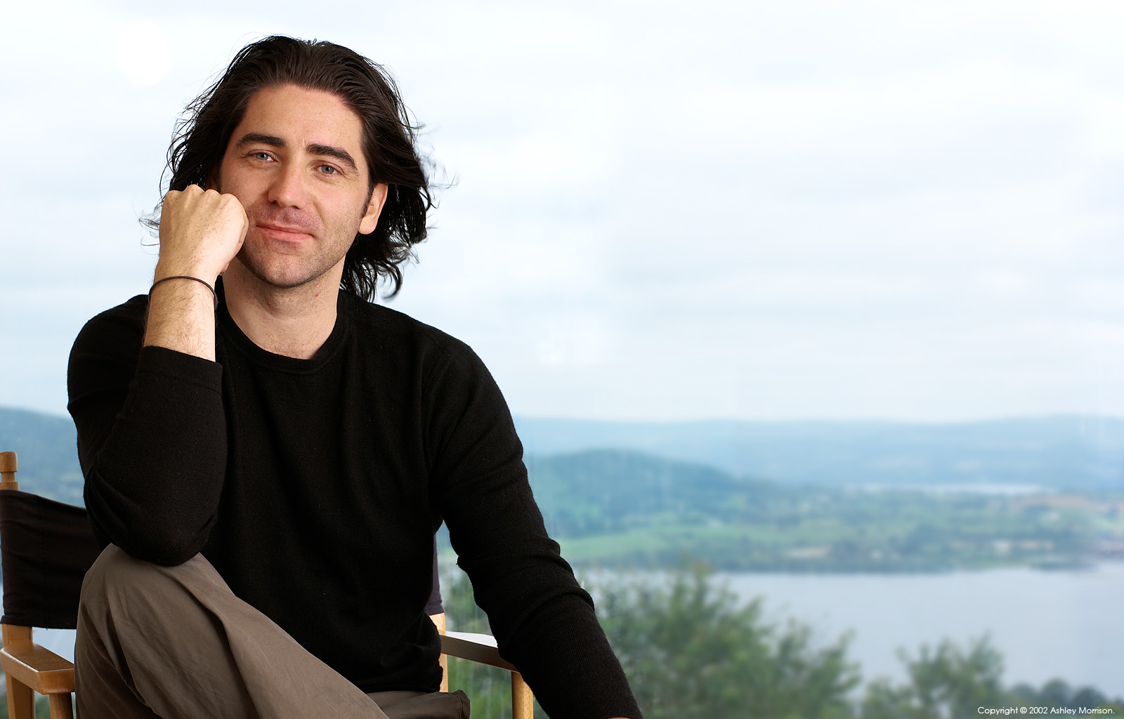 Brian Kennedy the Northern Irish singer-songwriter and author in his cottage near the village of Ballina nestling on the edge of the Lough Dreg in County Tipperary.