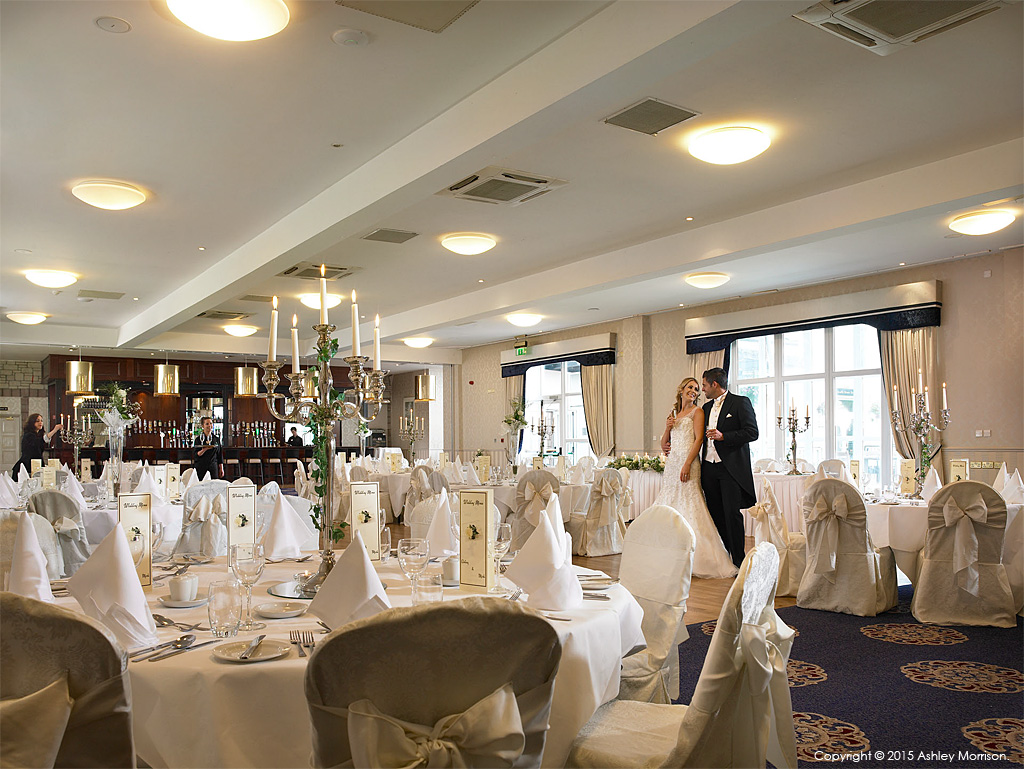 The Banquet suite at the Breaffy House Resort in the County Mayo town of Castlebar.