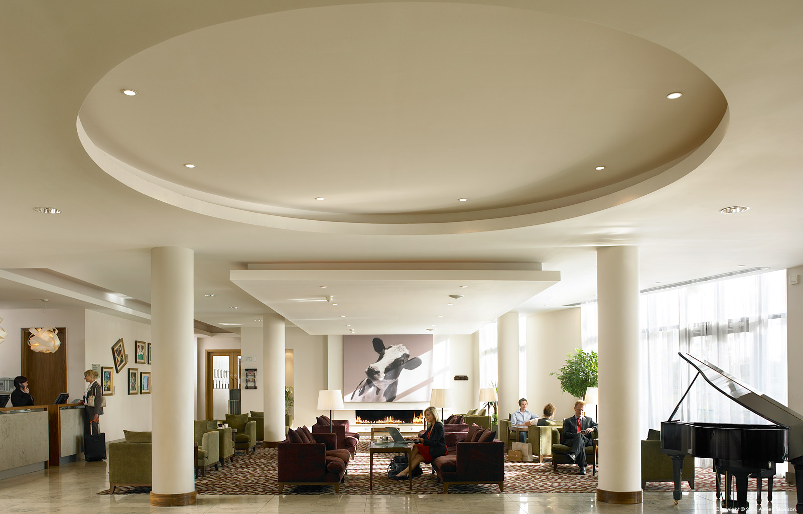 The Lobby at the CityNorth Hotel near Gormanston in Co Meath.