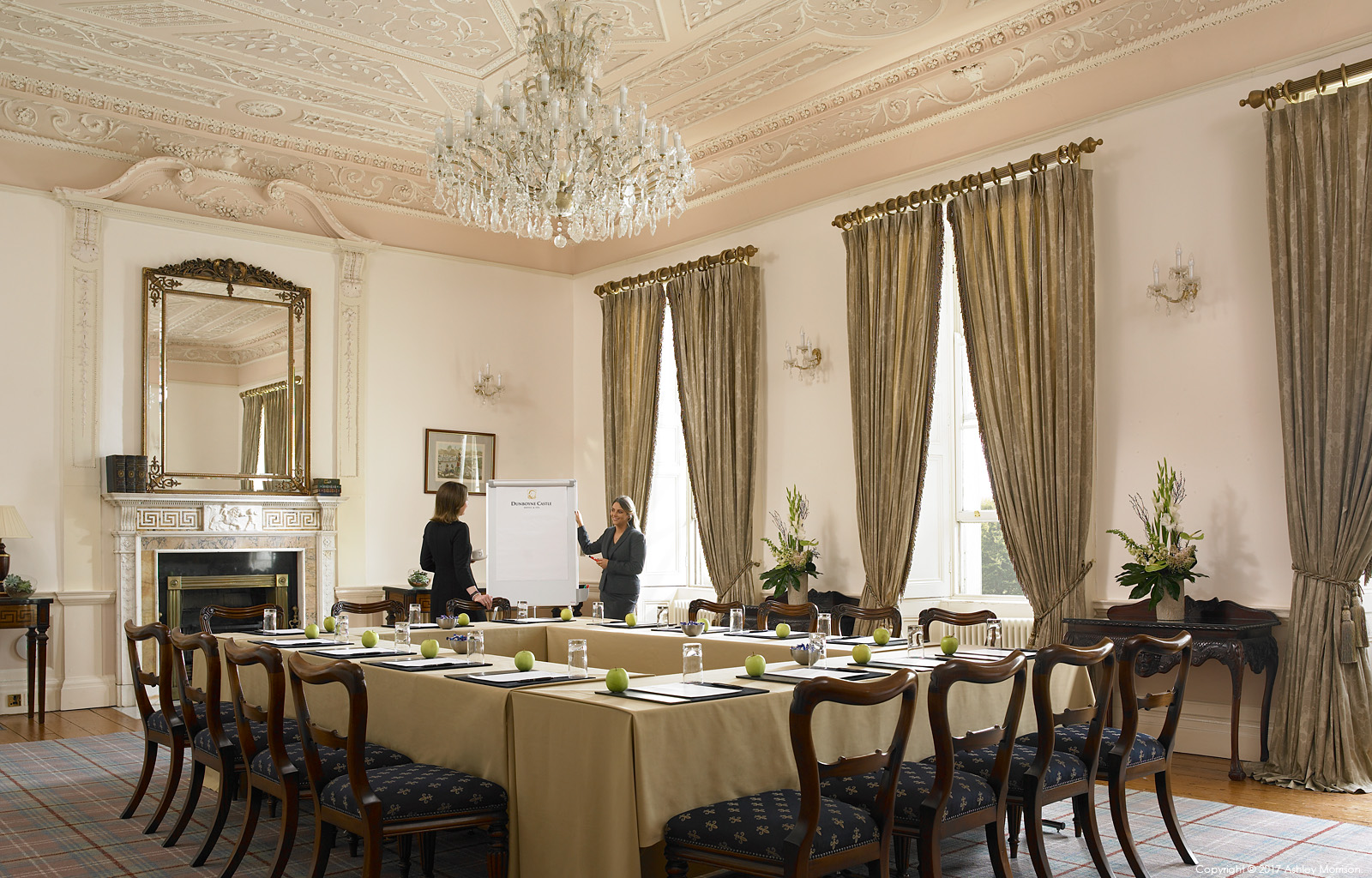 The Francini Suite at Dunboyne Castle Hotel & Spa in County Meath.