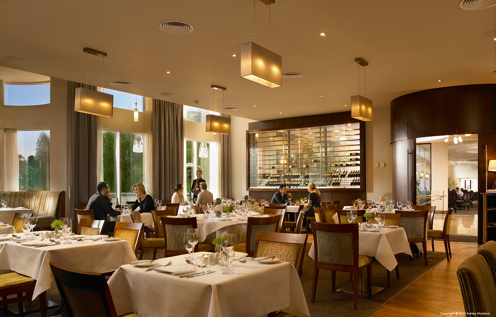 The IVY restaurant at Dunboyne Castle Hotel & Spa in County Meath.