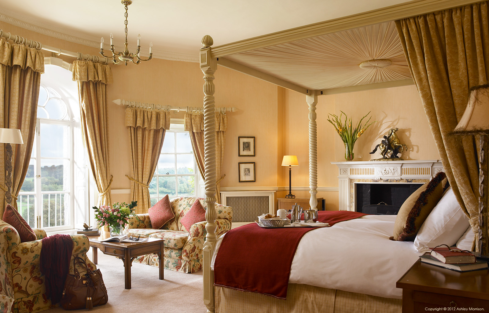Bedroom Suite At Mount Juliet In County Kilkenny