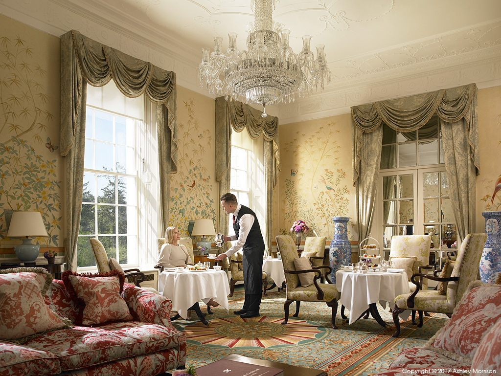 The Chinese Drawing Room at the Kildare Hotel Spa & Country Club in County Kildare.