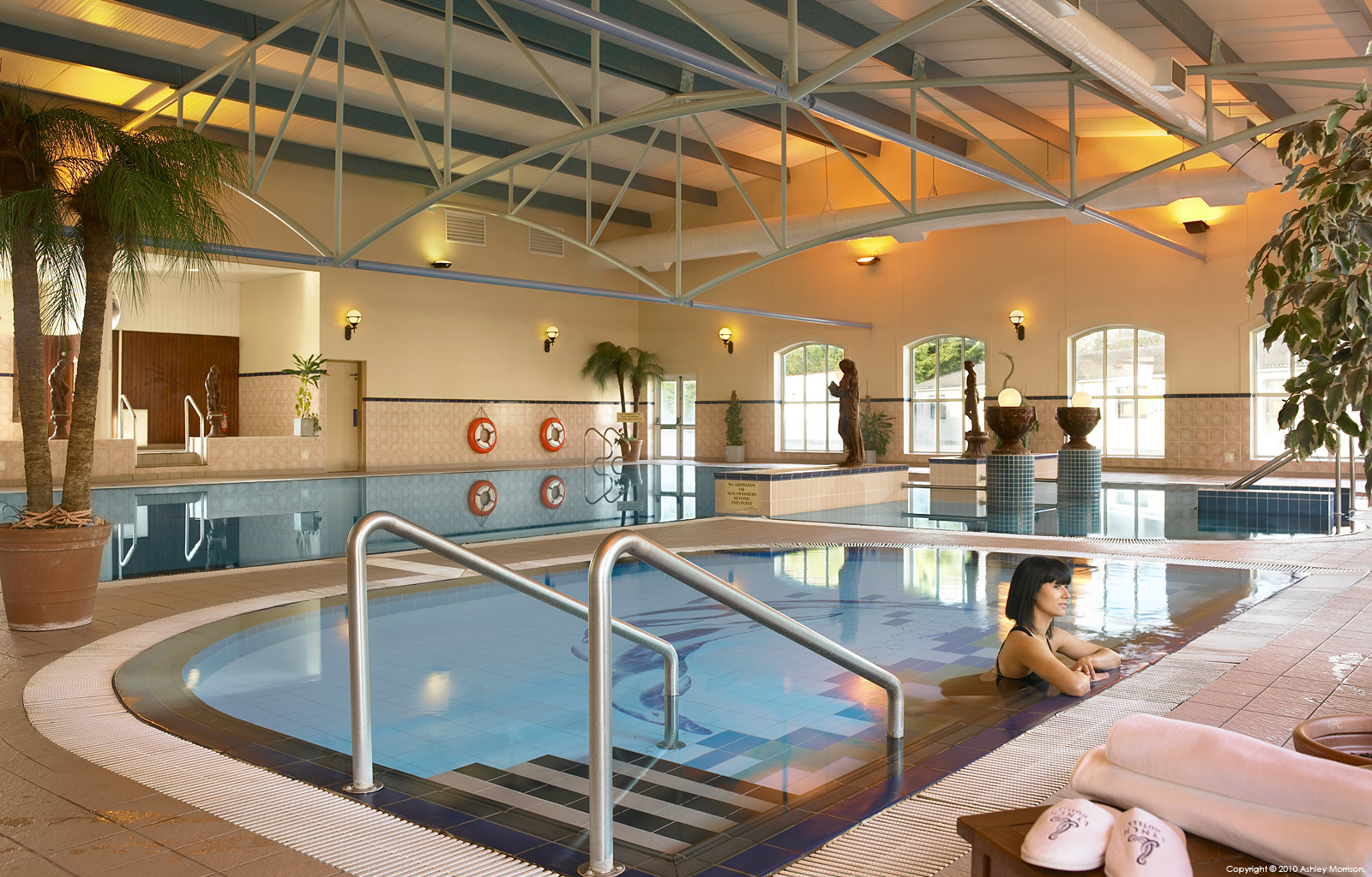 The Swimming Pool At The West County Hotel In The County Clare Town Of Ennis