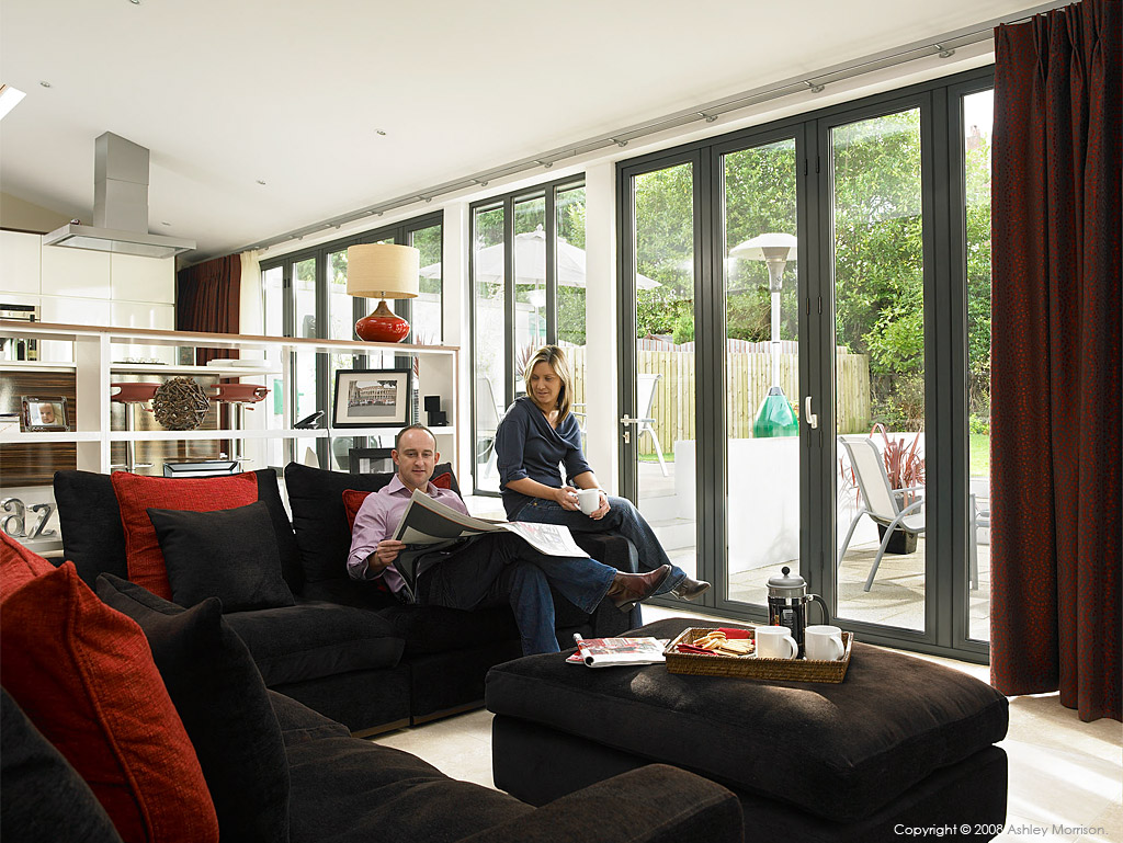 Stephanie and Ciaran Conway in their 1930's detached villa in Belfast.